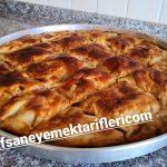 Mayalı Hamurdan Patlıcanlı Börek