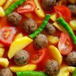 Köfteli Patates Yemeği Tarifi