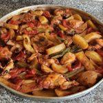 Fırında Tavuklu Patates Yemeği Tarifi