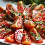 Soğuk Domates Salatası Tarifi