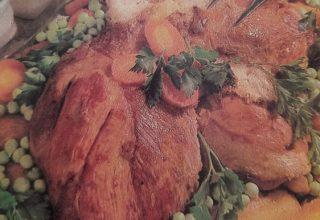 Fırında Sebzeli Kuzu Budu Tarifi