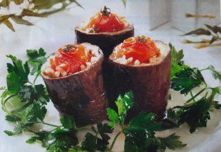 Zeytinyağlı Patlıcan Dolması Tarifi